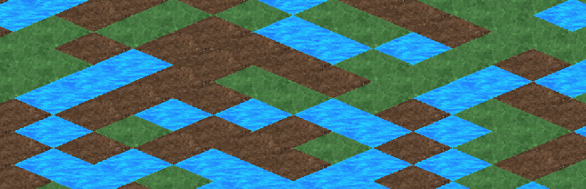 DevDiary 077 - back to basics - simple tile isometric tiling