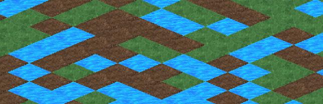 DevDiary 077 - back to basics - simple tile isometric tiling