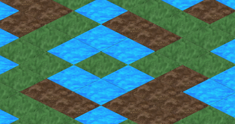 DevDiary 077 - seams between isometric tiles on zoom